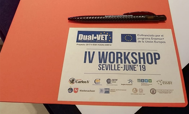 Workshop Dual-Vet Transnational meeting 2019