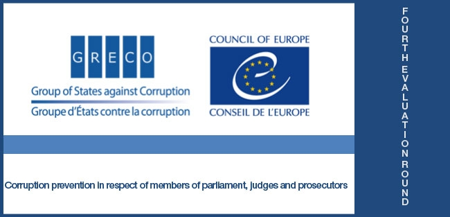 Corruption prevention in respect of members of parliament, judges and prosecutors